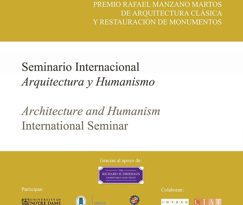 2015 Architecture and Humanism