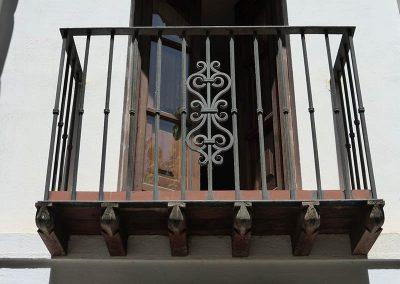 Carmen Höning, Granada - detalle Balcón - Donald Gray