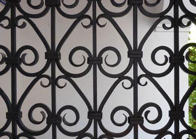 Carmen Höning, Granada - detalle reja - Donald Gray