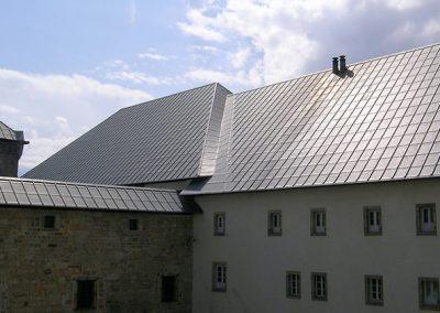 Casa Prioral Cubiertas