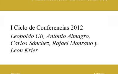 2012 I Conferences of the Rafael Mazano Prize