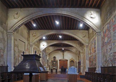 Convento de las Claras, Salamanca_ coro bajo