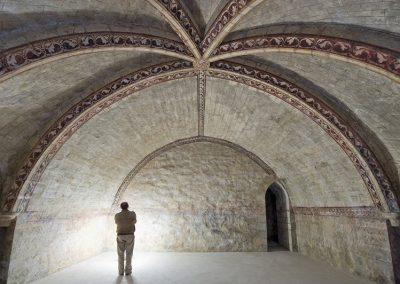 Cripta iglesia Colegiata Roncesvalles