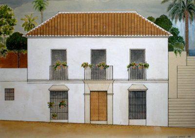 Las Lomas Club, Marbella - Alzado - Donald Gray