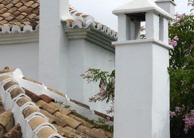 Las Lomas - Detalle chimeneas - Marbella- Donald Gray