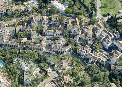 Las Lomas - Marbella - vista aérea- Donald Gray