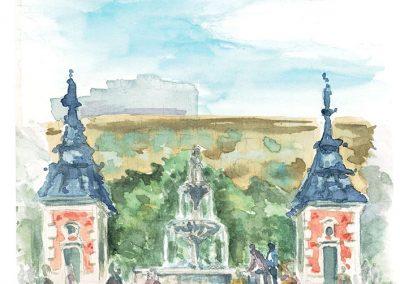 Plaza Jacinto Benavente_Dibujos Propuesta 1