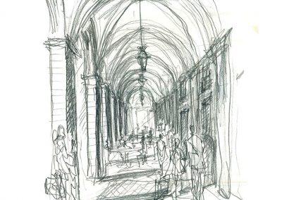 Plaza Jacinto Benavente_Dibujos Propuesta 2