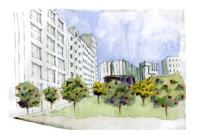 Plaza de Santo Domingo_vista propuesta