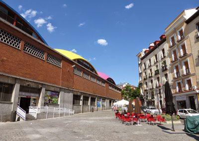 Plaza de la cebada-estado en 2014
