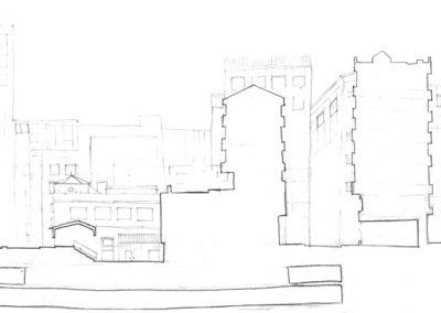 Plaza de los Mostenses_sección actual