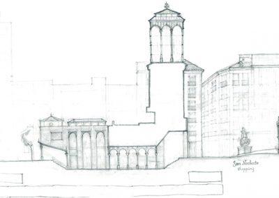 Plaza de los Mostenses_sección propuesta