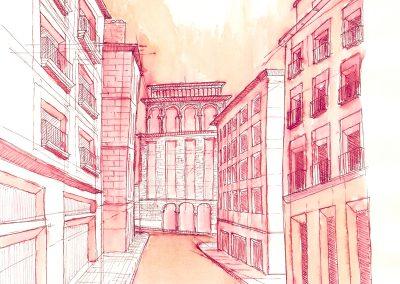 Plaza de los Mostenses_vista propuesta