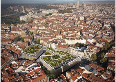 Proyecto aprobado para el área de la Plaza de la Cebada (Imagen tomada de la revista digital Jot Down)