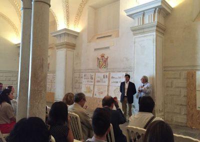 Presentación pública en la casa de Pilatos
