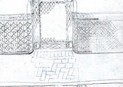dibujo detalle acabados