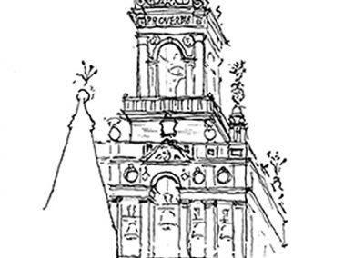dibujo torre