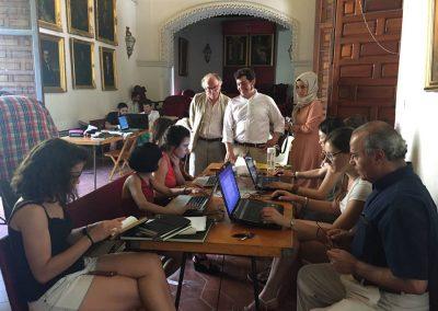trabajo en la Real Academia Sevillana de Buenas Letras
