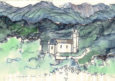 Amaiur_church view