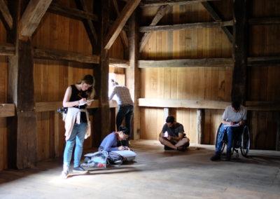 Estudio de estructuras de madera
