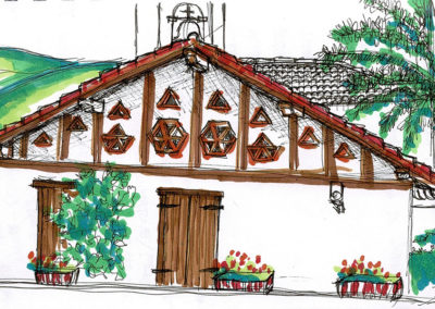 Arquitectura tradicional en Etxalar