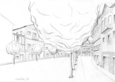 Calle de Lesaka