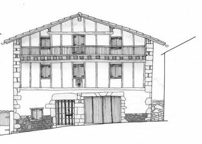 Casa en la calle principal de Arizkun