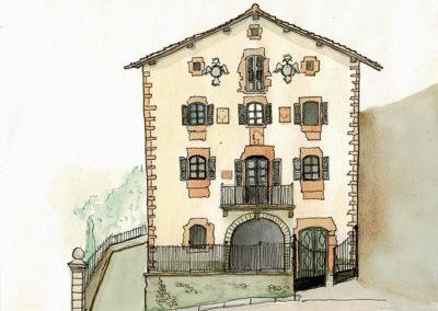 Casa en la plaza de Irurita