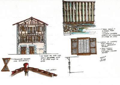 Detalles - Construcción tradicional de Lesaca