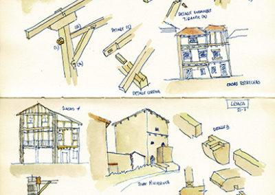 Estudio de la construcción en Lesaka