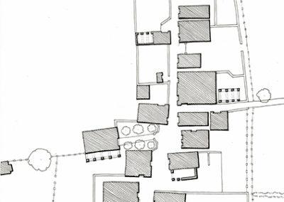 Plano del área anterior a la propuesta