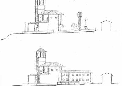 Proyecto Pza de la Iglesia - Before-After sección