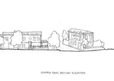 Centro E elevation -