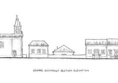 Centro SE elevation -