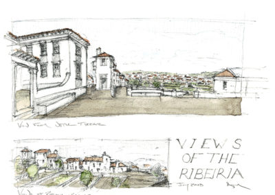 Views of the Ribera -
