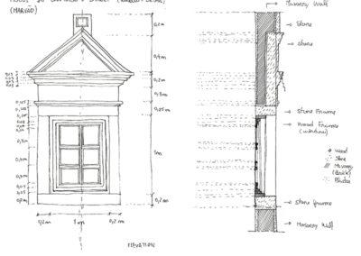 detalle ventana de marvao