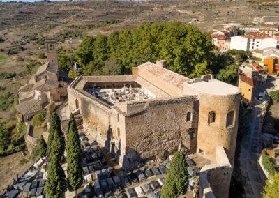 Brihuega Reconstrucción del castillo-