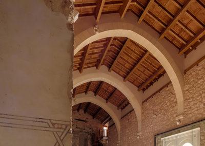 Brihuega Reconstrucción del castillo
