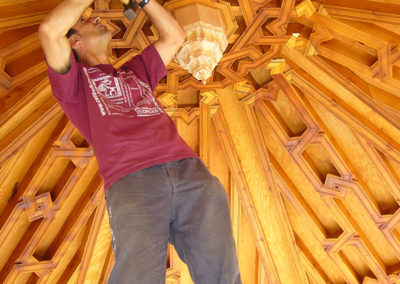 El Taller de Carpintería del Centro de los Oficios de León
