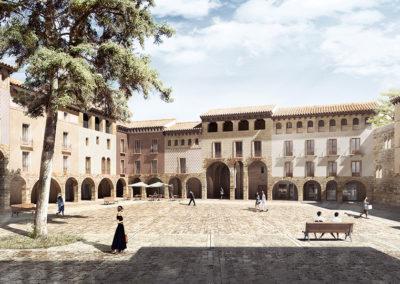 Unidad y Multiplicidad en el Centro Histórico de Jaca