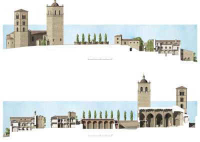 Regeneración del entorno del Convento de la Coria en Trujillo