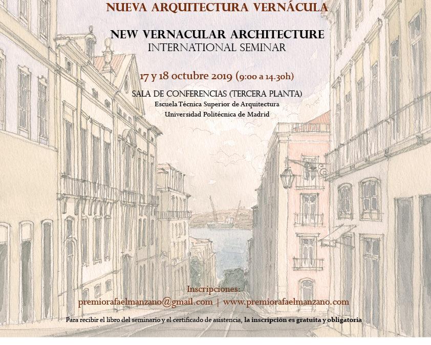 Seminário Internacional Nova Arquitectura Vernácula