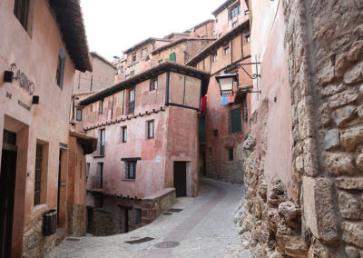Calle en Albarracín