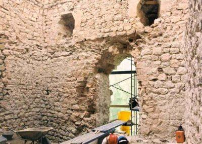 Restauración de la Torre Blanca