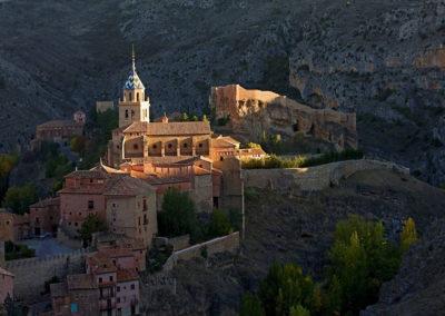 Vista del conjunto de Albarracín